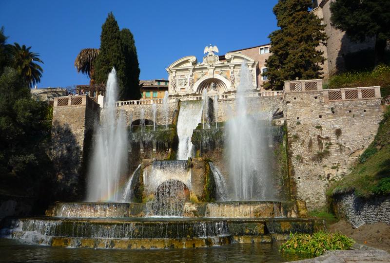 The Fountain of Neptune at Villa d'Este