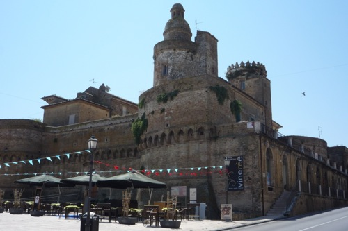 Vasto's medieval Caldoresco Castle