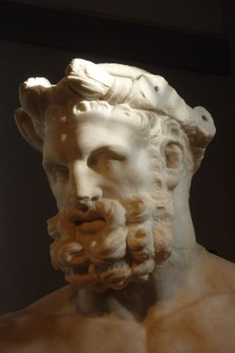 The head of Hercules