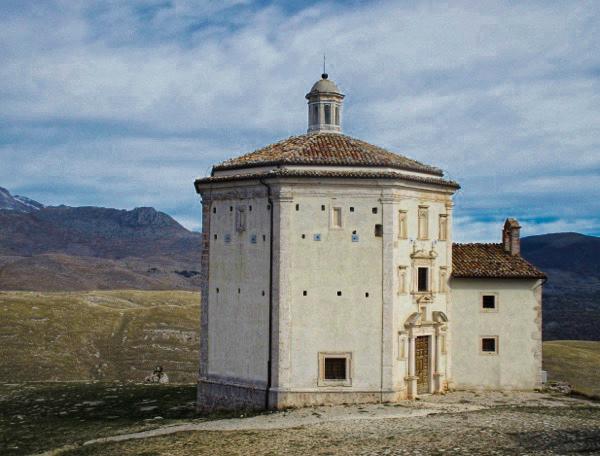 Church of Santa Maria della Pieta at Rocca Calascio