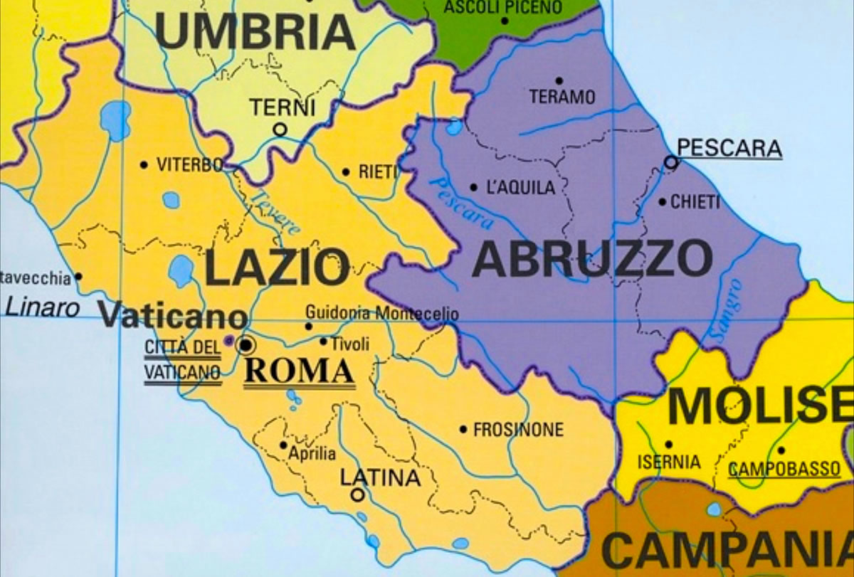 Abruzzo is Rome's neighbour - but off the beaten tourist track