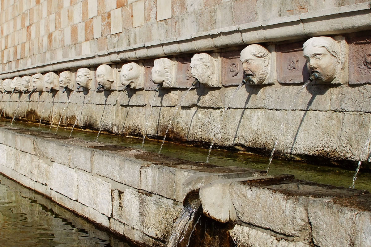 L'Aquila's mysterious 'Fountain of the 99 Spouts'