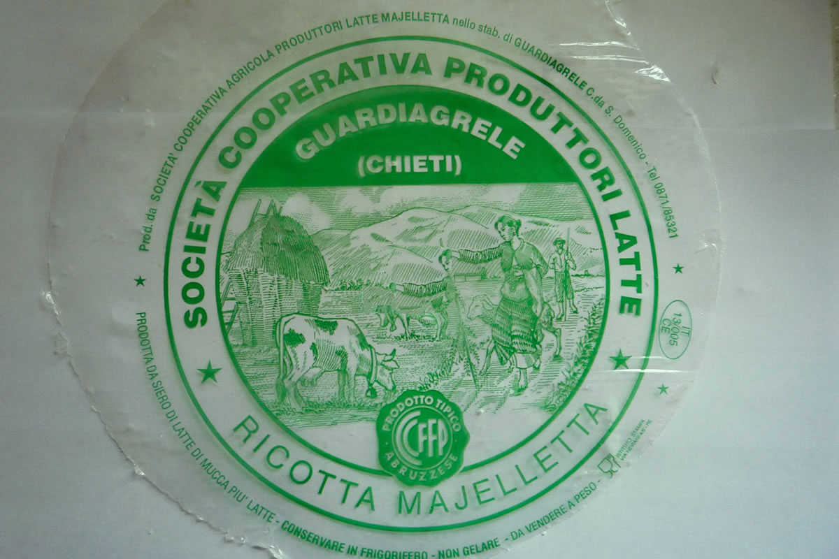 Delicious fresh Ricotta from our local cheese-makers